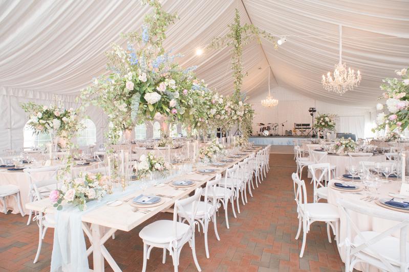 Tented reception at Diana at Biltmore