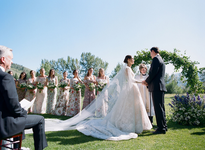 Wedding Ceremony at Sun Valley Resort